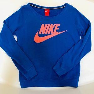 Nike Neon light weight Blue/Pink Sweatshirt